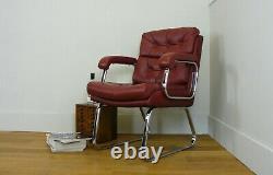 Vinatge Verco Gordon Russell Leather Desk Office Chair