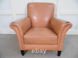 Vintage Antique Leather Library Gentlemans Club chair ex FCO Office whitehall