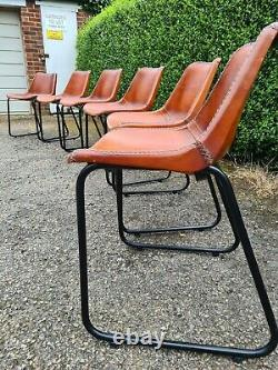 Vintage Industrial Dining/Office Chairs