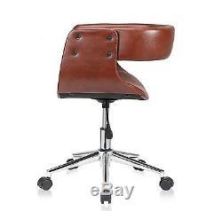 Vintage Retro Office Chair Swivel Computer PC Desk Seat Antique Rustic Armchair