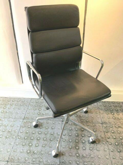 Vitra Ea 219 Eames Aluminium Swivel Office Chair Cost £3000+ New