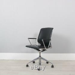 Vitra Meda executive black leather ops chair free delivery within London M25