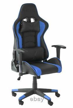 X Rocker Alpha eSports Ergonomic Office Gaming Chair Blue