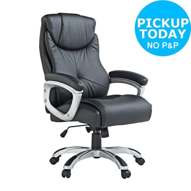 X-rocker Executive Height Adjustable Office Chair Black